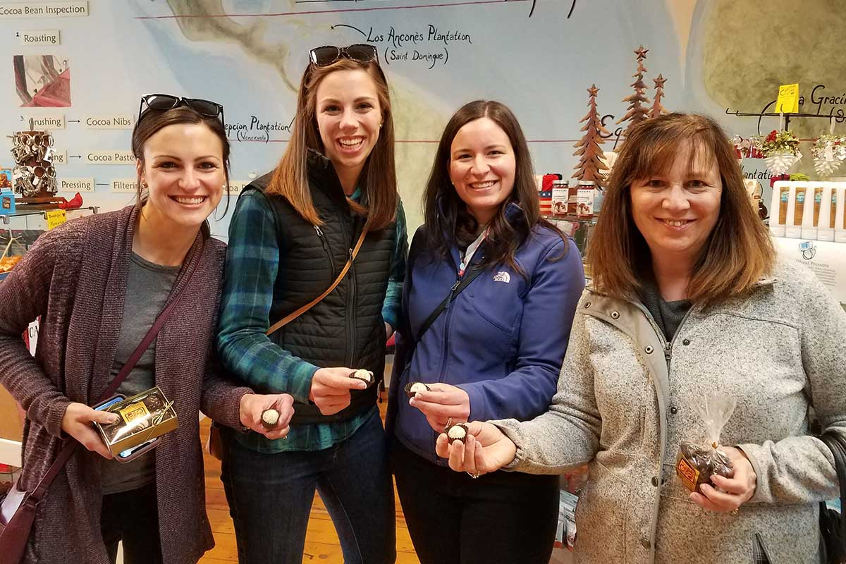 The Chocolate Escape Featured Tours